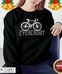 Hot The Bicycle Cycologist Sweatshirt - Design By Girltshirt.com