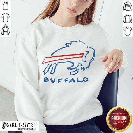 Buffalo Bills Sweatshirt - Design By Girltshirt.com