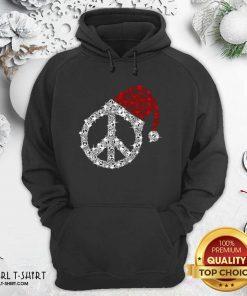 Hippie Diamond Hat Merry Christmas Hoodie- Design By Girltshirt.com