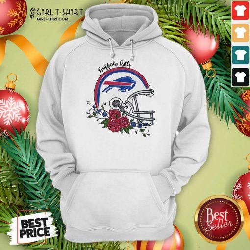 Buffalo Bills Floral Hoodie- Design By Girltshirt.com