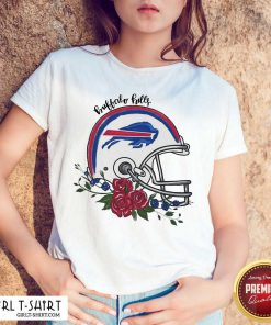 Buffalo Bills Floral Shirt- Design By Girltshirt.com