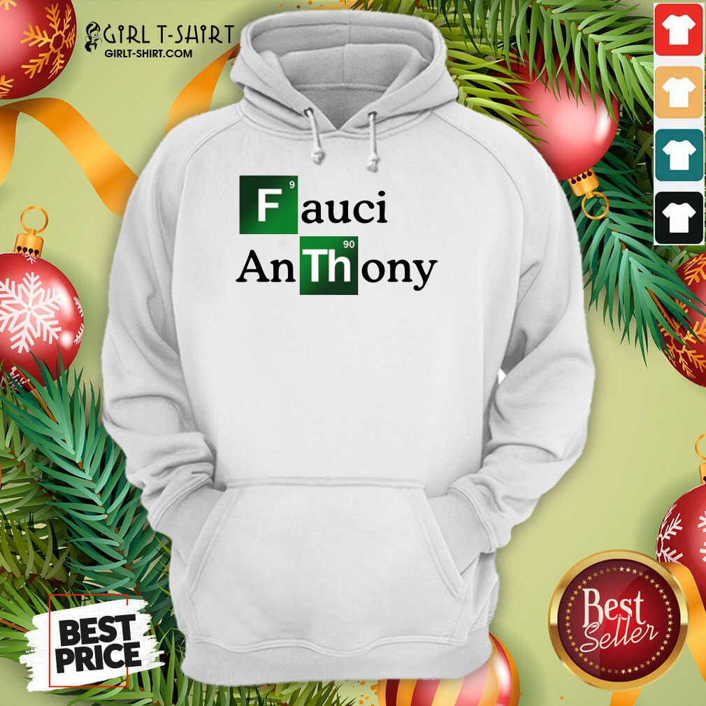 Fauci Anthony We Trust In Science Chemistry Wear A Mask Not Morons Hoodie - Design By Girltshirt.com