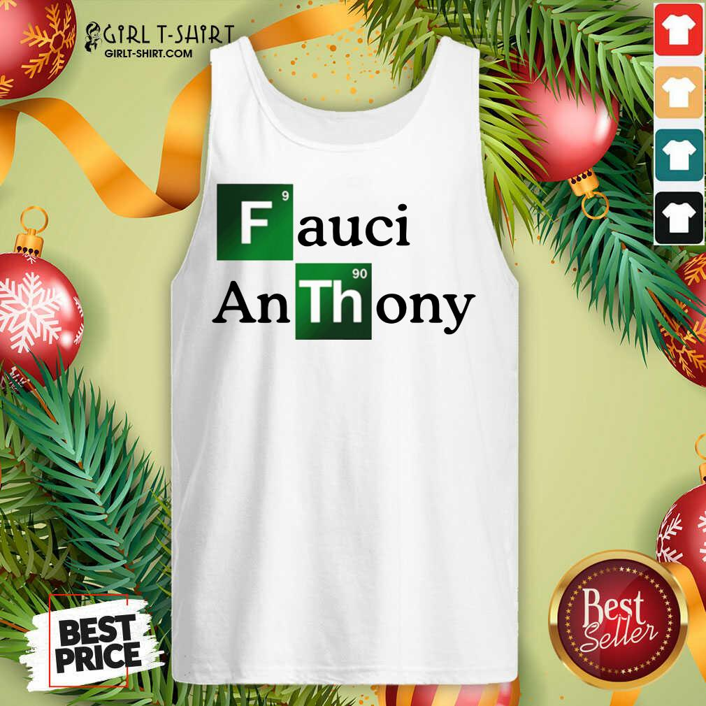 Fauci Anthony We Trust In Science Chemistry Wear A Mask Not Morons Tank Top - Design By Girltshirt.com
