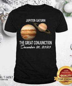 Jupiter Saturn The Great Conjunction December 21 2020 Shirt- Design By Girltshirt.com