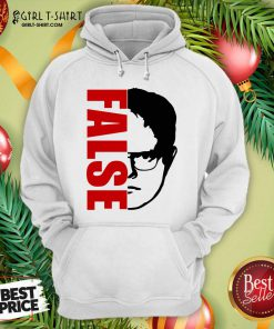 Good The Office Dwight Schrute False Hoodie- Design By Girltshirt.com