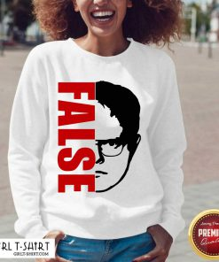 The Office Dwight Schrute False V-neck- Design By Girltshirt.com