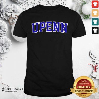 University Of Upenn Shirt- Design By Girltshirt.com