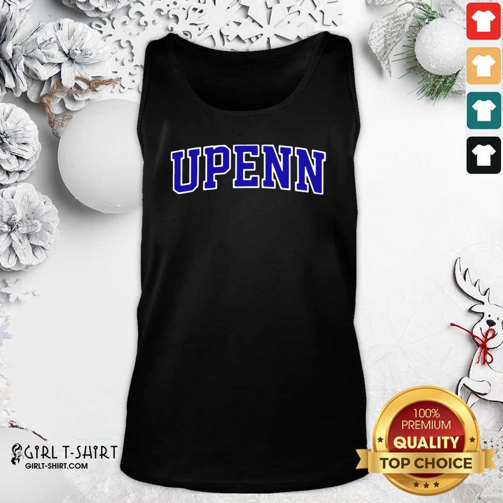 University Of Upenn Tank Top - Design By Girltshirt.com