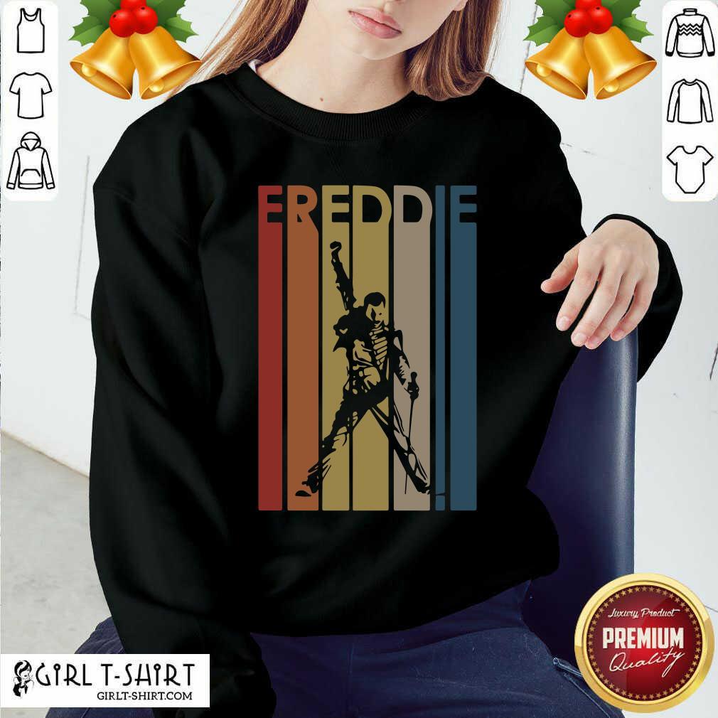 Freddie Mercury Vintage Sweatshirt- Design By Girltshirt.com
