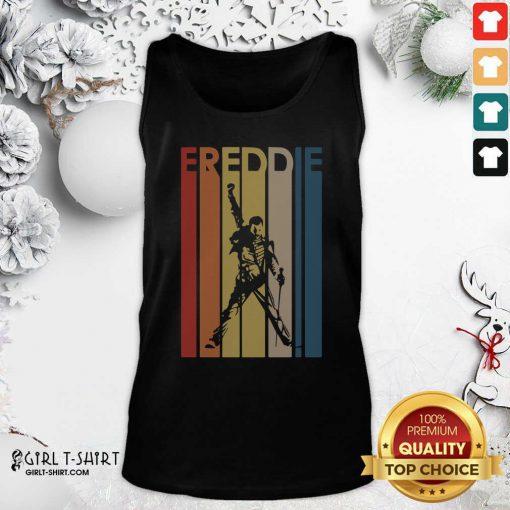 Freddie Mercury Vintage Tank Top - Design By Girltshirt.com