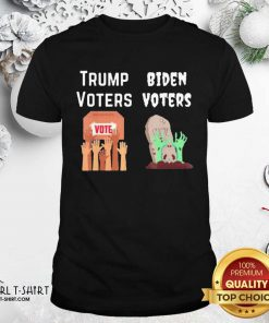 Trump Voters Against Biden Voters Shirt - Design By Girltshirt.com