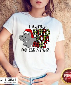 I Want A Hippopotamus For Christmas Hoodie - Design By Girltshirt.com
