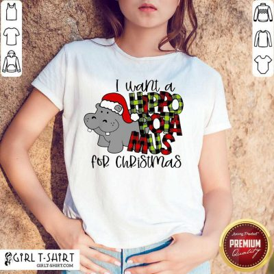 I Want A Hippopotamus For Christmas Hoodie - Design By Girltshirt.com