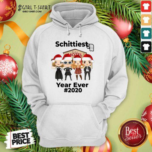 Schitts Creek Characters Chibi Schittiest Year Ever 2020 Christmas Hoodie - Design By Girltshirt.com