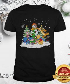 Snowman Bear And Friends Christmas Shirt - Design By Girltshirt.com