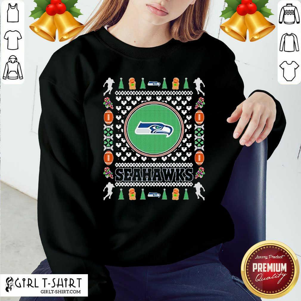 Snowman Bear And Friends Christmas V-neck - Design By Girltshirt.com