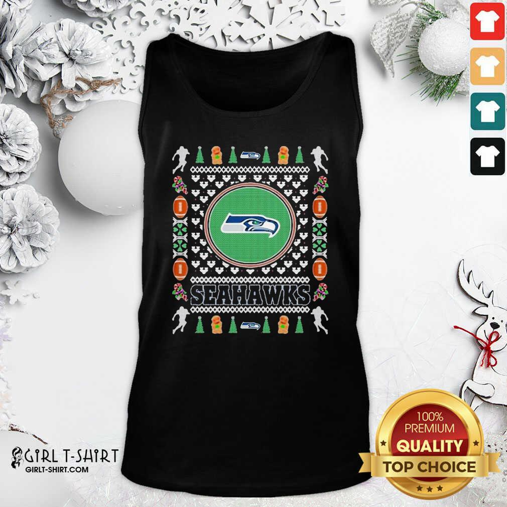 Snowman Bear And Friends Christmas Tank Top - Design By Girltshirt.com