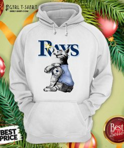 Tattoo Cat I Love Tampa Bay Rays Hoodie - Design By Girltshirt.com