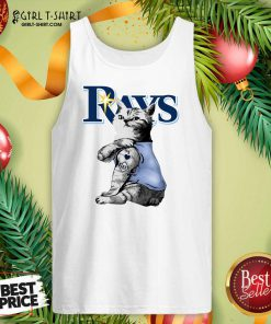 Tattoo Cat I Love Tampa Bay Rays Tank Top - Design By Girltshirt.com