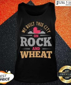We Built This City On Rock And Wheat Settlers Board Game Tank Top - Design By Girltshirt.com