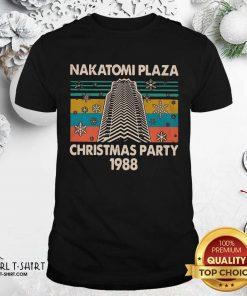 Nakatomi Plaza Christmas Party 1988 Vintage Shirt - Design By Girltshirt.com