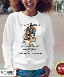 Studio Ghibli 36th Anniversary Thank You For The Memories Signatures V-neck- Design By Girltshirt.com