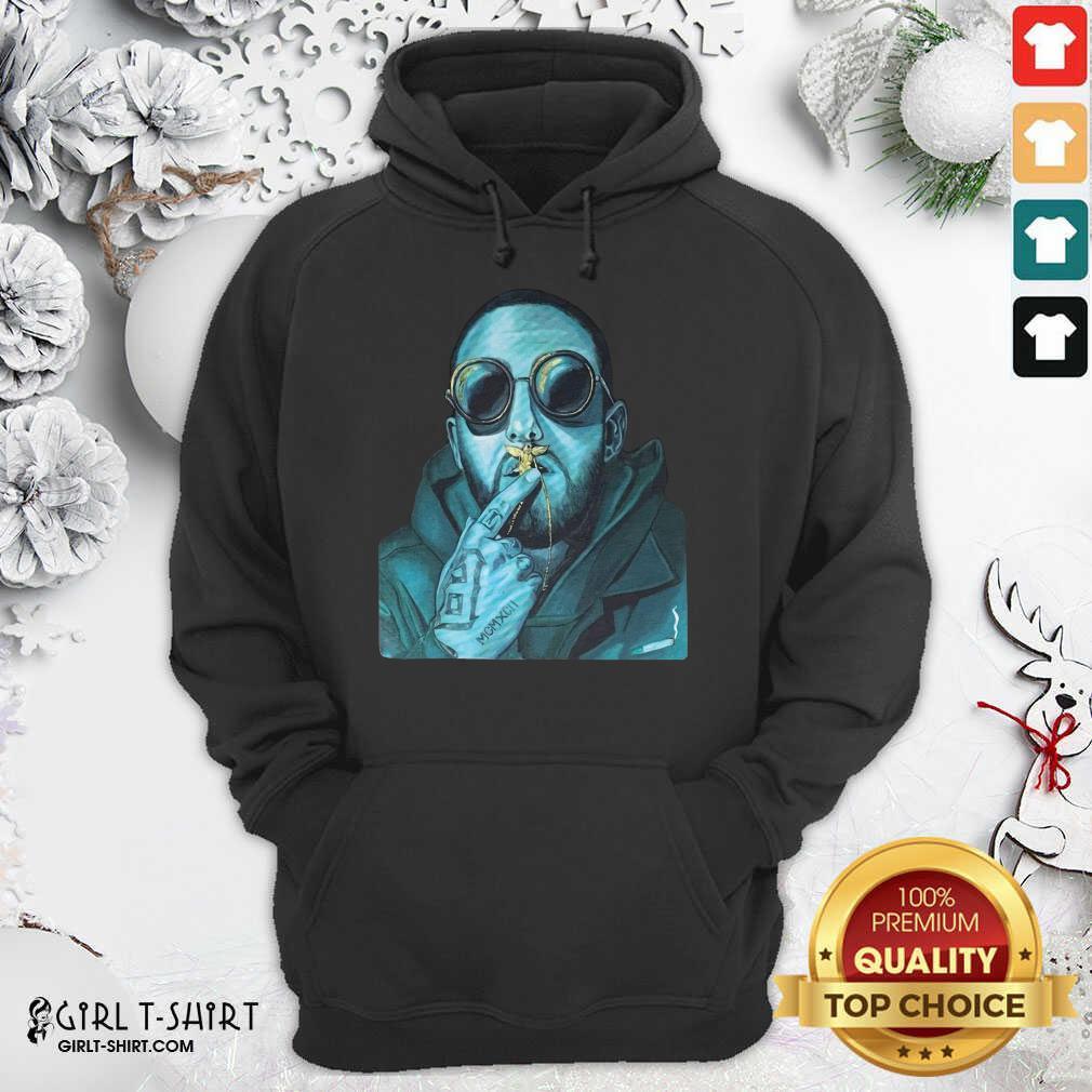 Mac Miller Hoodie- Design By Girltshirt.com