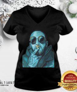 Mac Miller V-neck - Design By Girltshirt.com