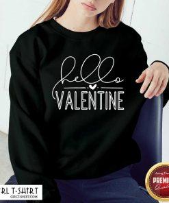 Valentine 2021 Sweatshirt - Design By Girltshirt.com