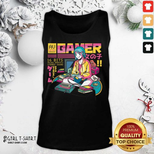 Yes Im A Gamer Girl Try To Keep Tank Top - Design By Girltshirt.com