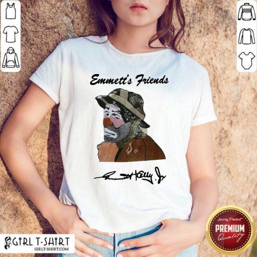 Emmett's Friends Signature Shirt - Design By Girltshirt.com