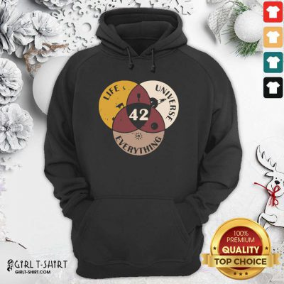 42 The Answer To Life Universe And Everything Hoodie- Design By Girltshirt.com