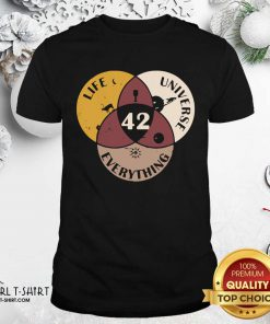 42 The Answer To Life Universe And Everything Shirt - Design By Girltshirt.com