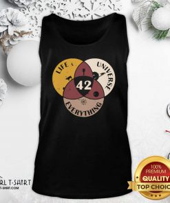 42 The Answer To Life Universe And Everything Tank Top- Design By Girltshirt.com