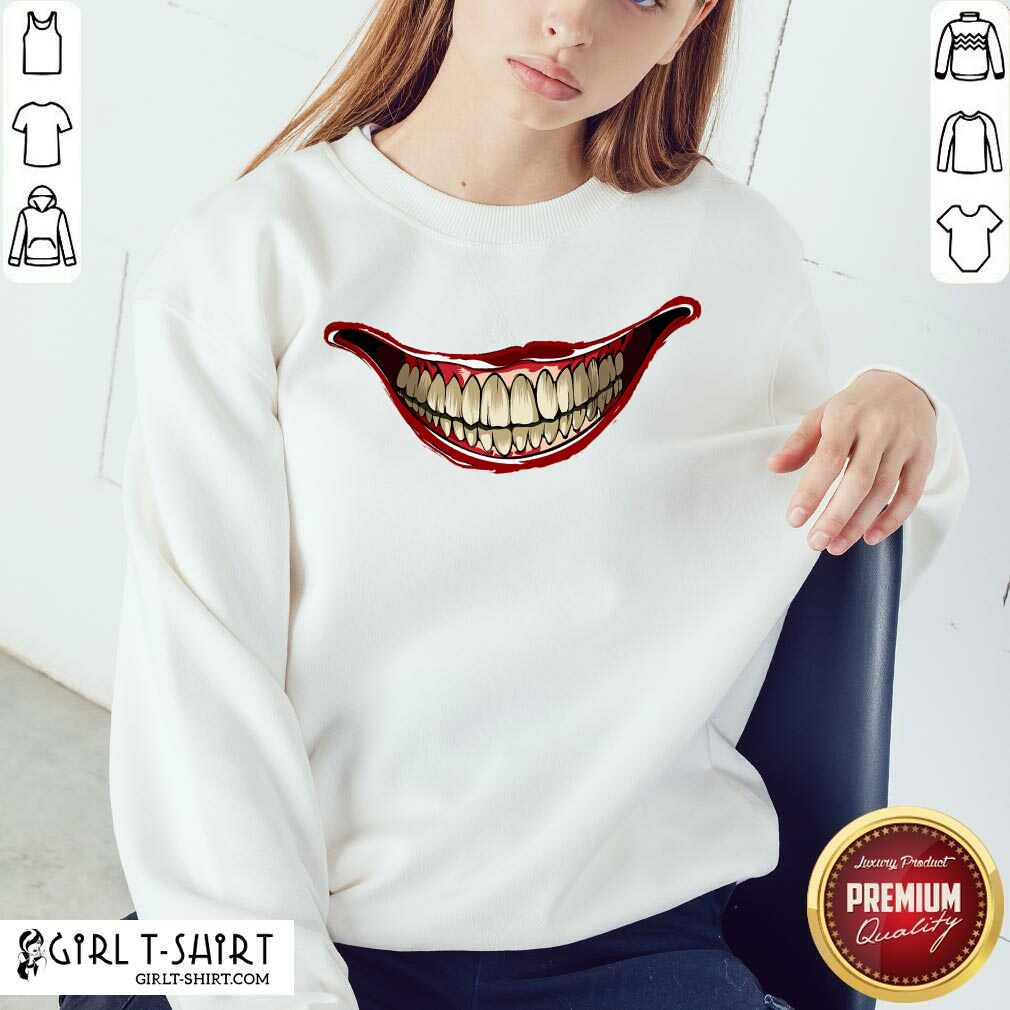 Joker Laugh 2020 Sweatshirt- Design By Girltshirt.com