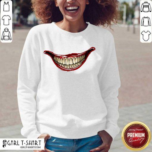 Joker Laugh 2020 V-neck - Design By Girltshirt.com