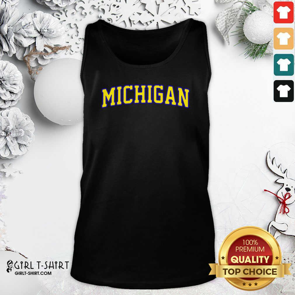 Michigan State Tank Top - Design By Girltshirt.com
