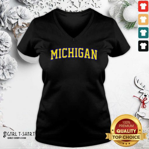 Michigan State V-neck - Design By Girltshirt.com