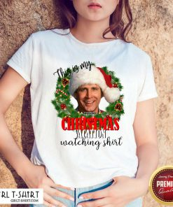Santa Michael Scott This Is My Christmas Vacation Watching Shirt- Design By Girltshirt.com