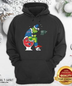 The Grinch New York Jets Shit On Toilet New England Patriots And Other Teams Christmas Hoodie- Design By Girltshirt.com