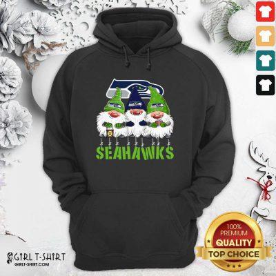 Gnomies Seattle Seahawks Christmas Hoodie - Design By Girltshirt.com