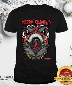 Merry Krampus Christmas Psychobilly Shirt - Design By Girltshirt.com