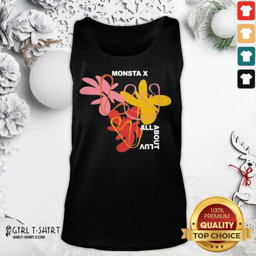 Monsta X Merch Monsta X Amorphous Tank Top- Design By Girltshirt.com