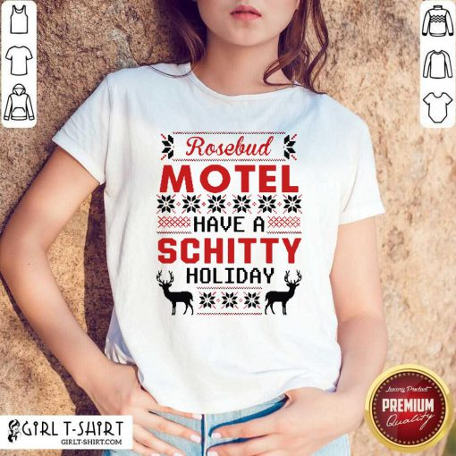 Rosebud Motel Have A Schitty Holiday Christmas 2020 Shirt - Design By Girltshirt.com
