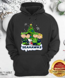 Snoopy The Peanuts Seattle Seahawks Christmas Hoodie - Design By Girltshirt.com