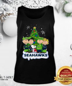 Snoopy The Peanuts Seattle Seahawks Christmas Tank Top - Design By Girltshirt.com