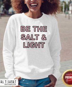 Be The Salt and Light V-neck - Design By Girltshirt.com