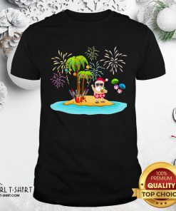 Christmas Palm Tree Xmas Coconut Lights Shirt- Design By Girltshirt.com