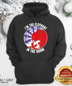 I'm The Elephant In The Room Republican Conservative Hoodie - Design By Girltshirt.com