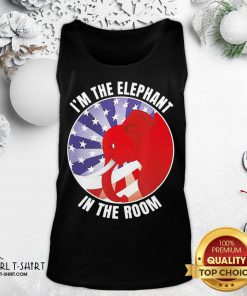 I'm The Elephant In The Room Republican Conservative Tank Top - Design By Girltshirt.com